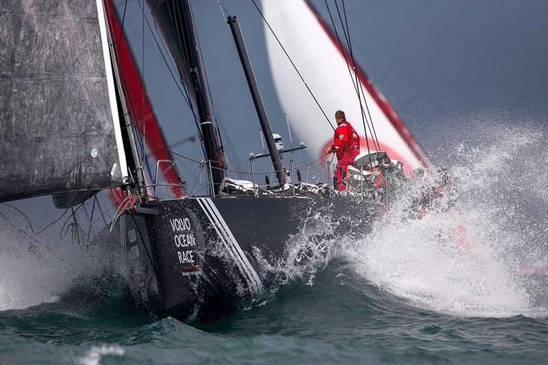 Volvo Ocean Race: Leg 6 to Auckland, start day. 07 February - photo © Pedro Martinez / Volvo Ocean Race