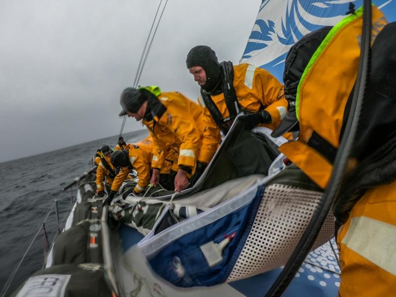 Volvo Ocean Race Leg 10, from Cardiff to Gothenburg, day 04, on board Turn the Tide on Plastic. - photo © Jen Edney / Volvo Ocean Race