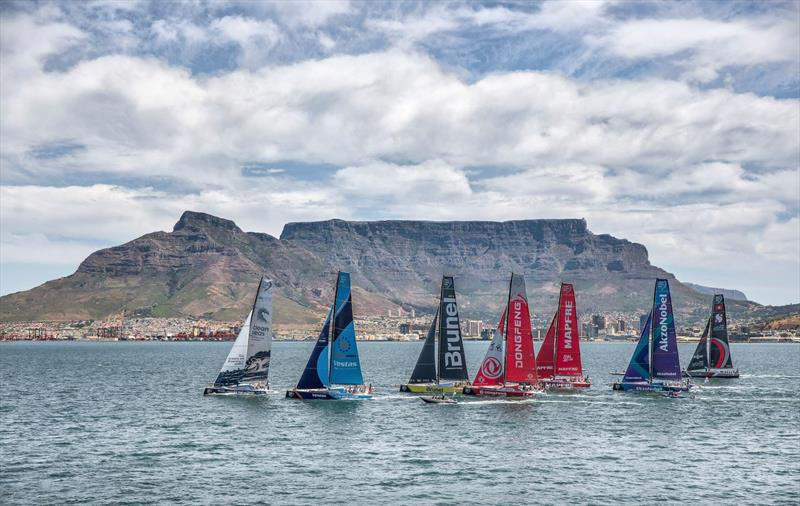 Up to eight VO65's could compete in The Ocean Race - In Port Race, Cape Town - Volvo Ocean Race, December  7, 2017 photo copyright Ainhoa Sanchez / Volvo Ocean Race taken at Royal Cape Yacht Club and featuring the Volvo One-Design class