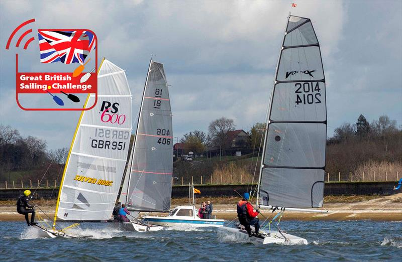 2019 King George Gallop photo copyright Tim Olin / www.olinphoto.co.uk taken at King George Sailing Club and featuring the Vortex class