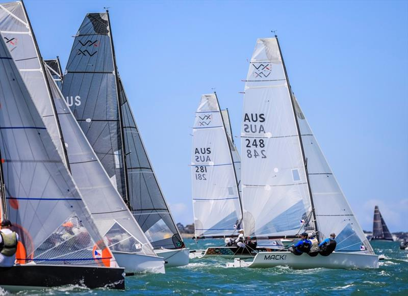 Mack One out in front in the VX One Australian Championship - 2019 Festival of Sails, Final Day - photo © Salty Dingo