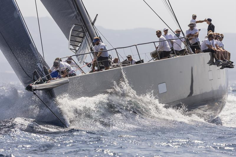 Claus Peter Offen's Wally 100 Y3K on day 1 of the Maxi Yacht Rolex Cup - photo © Studio Borlenghi / International Maxi Association