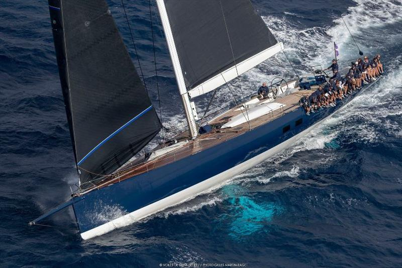 Magic Carpet 3 at Voiles de St Tropez - photo © Gilles Martin-Raget