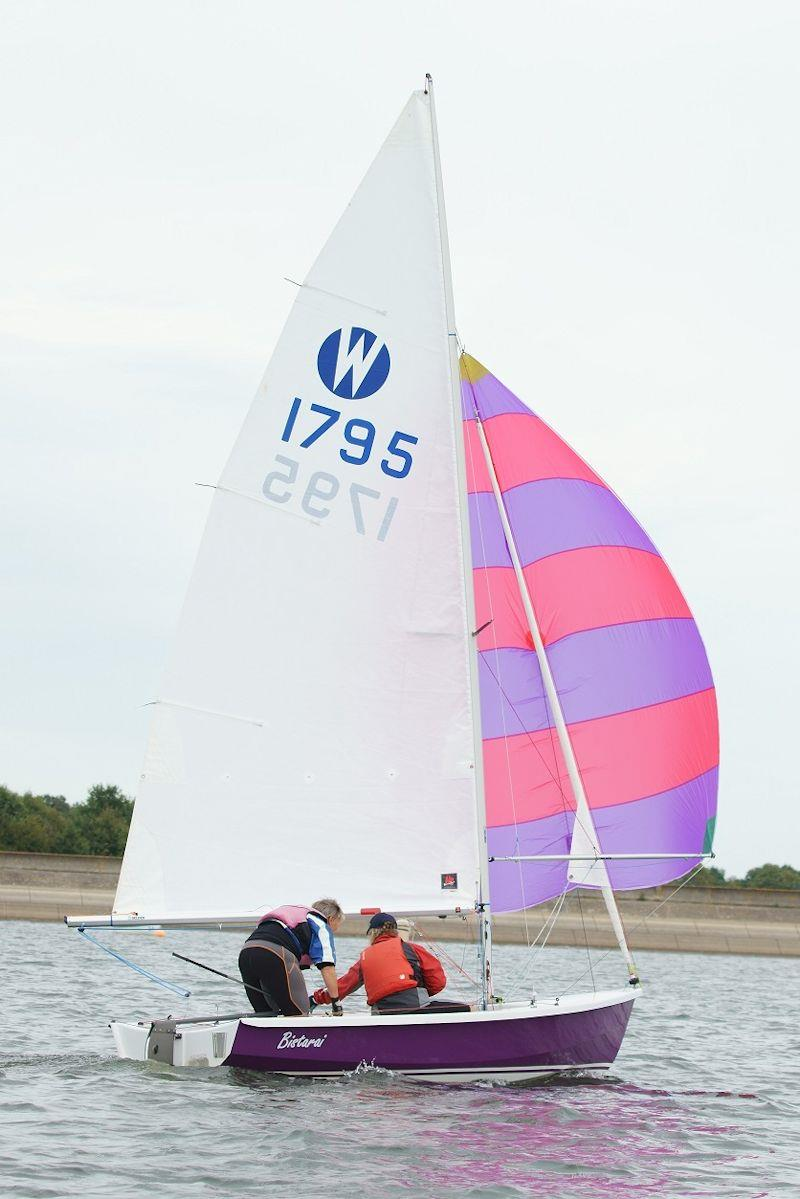Wanderer Inland Championships during Bart's Bash at Bewl 2018 photo copyright Richard Janulewicz / www.sharkbait.org.uk taken at Bewl Sailing Association and featuring the Wanderer class