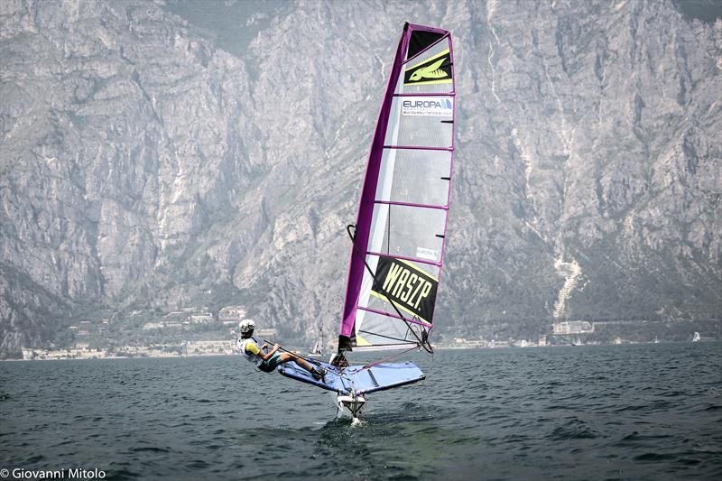 Foiling Week GARDA - trying out the WASZP - photo © Giovanni Mitolo