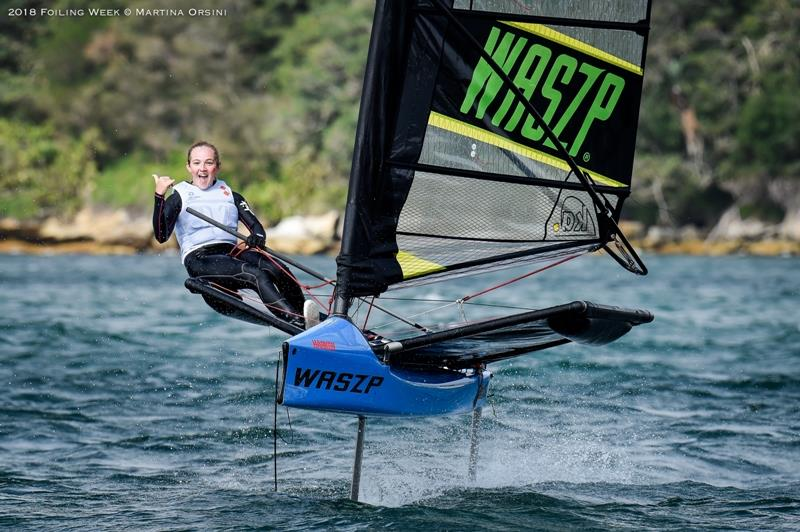 2018 Foiling Week photo copyright Martina Orsini / 2018 Foiling Week taken at  and featuring the WASZP class