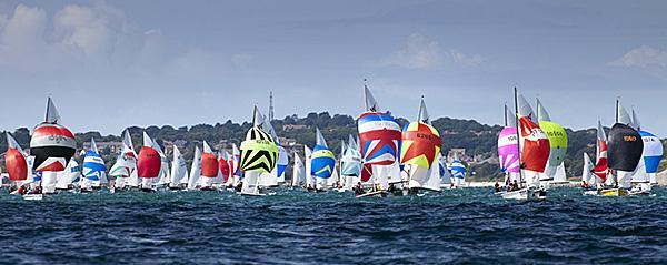 Wayfarer Internationals at Weymouth - photo © Richard Langdon / Ocean Images