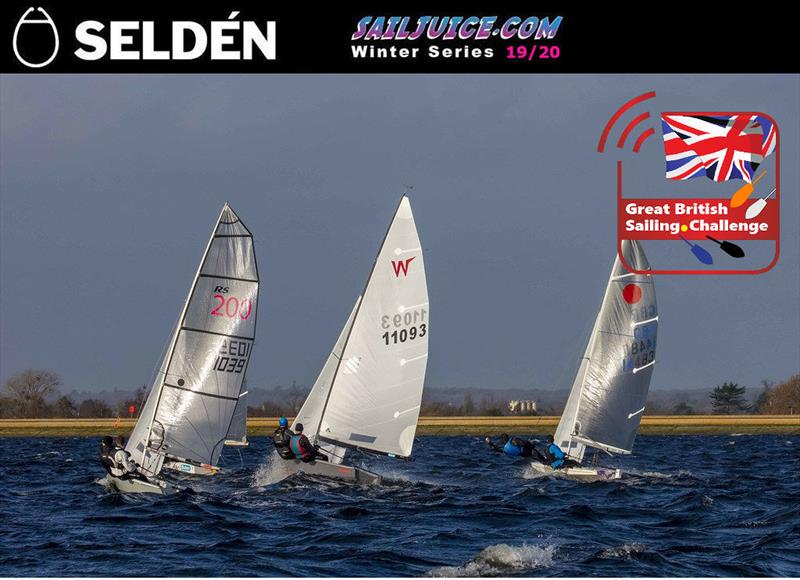 Seldén Sailjuice Winter Series Datchet Flyer - photo © Tim Olin / www.olinphoto.co.uk