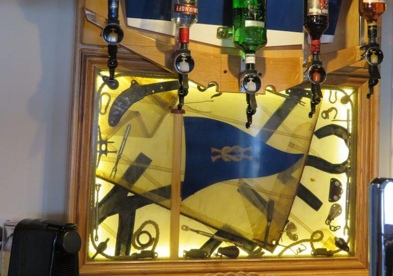 Using Entropy Resins to make a new bar with a nautical theme for Wells Sailing Club - photo © James Case