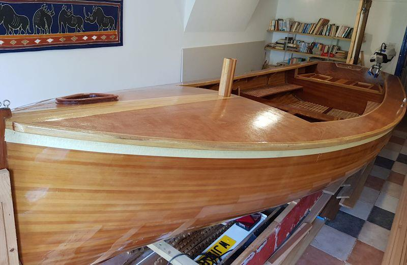Steve Goodchild explains how to build a Stornoway 16 wooden dinghy with epoxy resin - Part 1