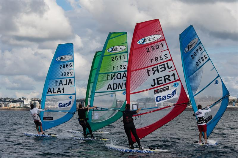 Kona Windsurfer British Championship during the UBS Jersey Regatta 2017 - photo © Simon Ropert