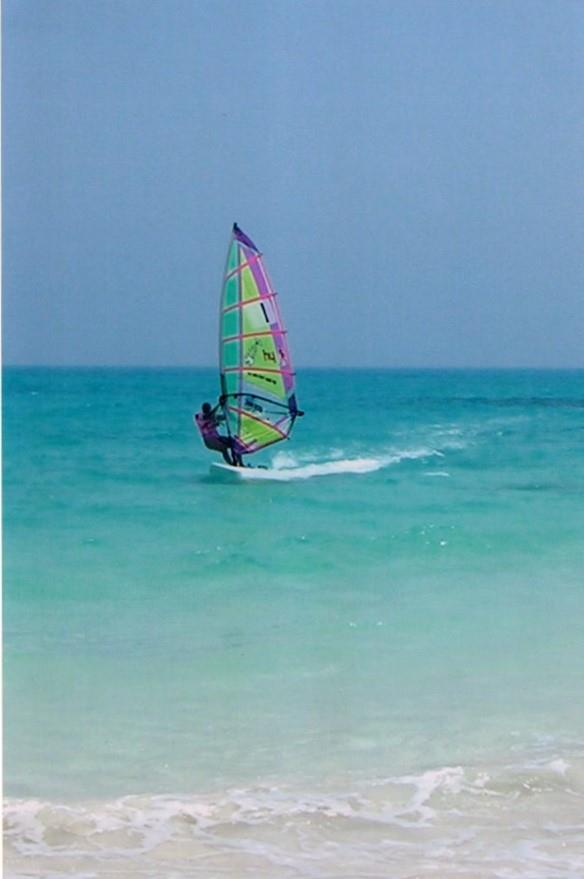 Windsurfing in Egypt - photo © Liz Potter