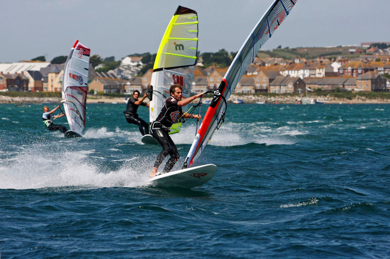 windsurfing at gjw direct sailfest