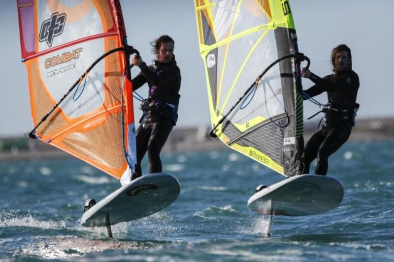 RYA Foiling at National Watersports Festival photo copyright RYA taken at Royal Yachting Association and featuring the Windsurfing class