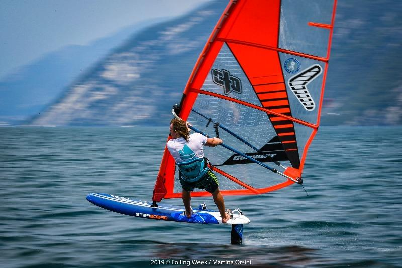 RYA First Flight windfoil taster sessions at Foiling Week Lake Garda - photo © Foiling Week / Martina Orsini