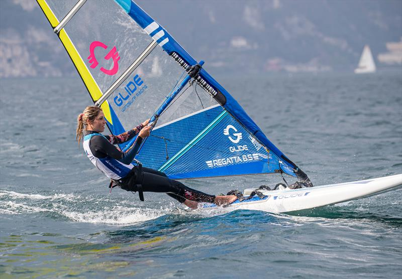 The Glide - at half the price of the current Olympic equipment - offers some good options - World Sailing - Windsurf Evaluation, Lago di Garda, Italy. September 29, 2019 . - photo © Jesus Renedo / Sailing Energy / World Sailing