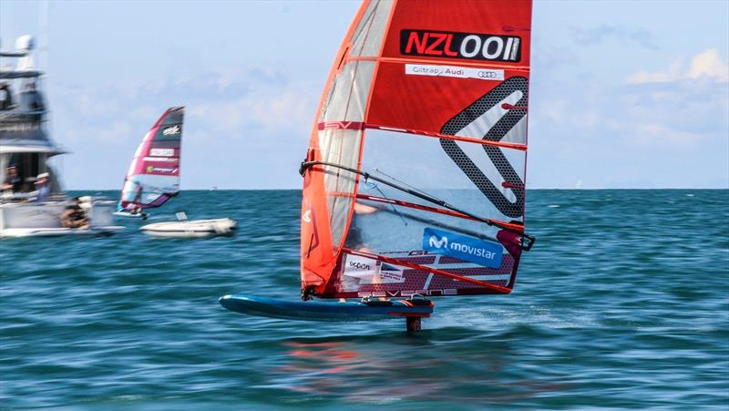 NZ Windfoiler National Championships - March 13-15, 2020 - Manly Sailing Club - photo © Adam Mustill