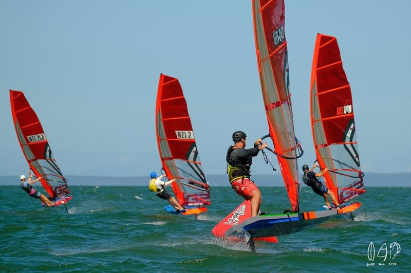 Fast and furious at the pointy end of the fleet - photo © Mitch Pearson for SurfSailKite