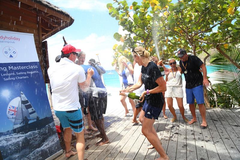 Spring Sail masterclass at BodyHoliday Saint Lucia with Olympic gold medallist Saskia Clark - photo © BodyHoliday