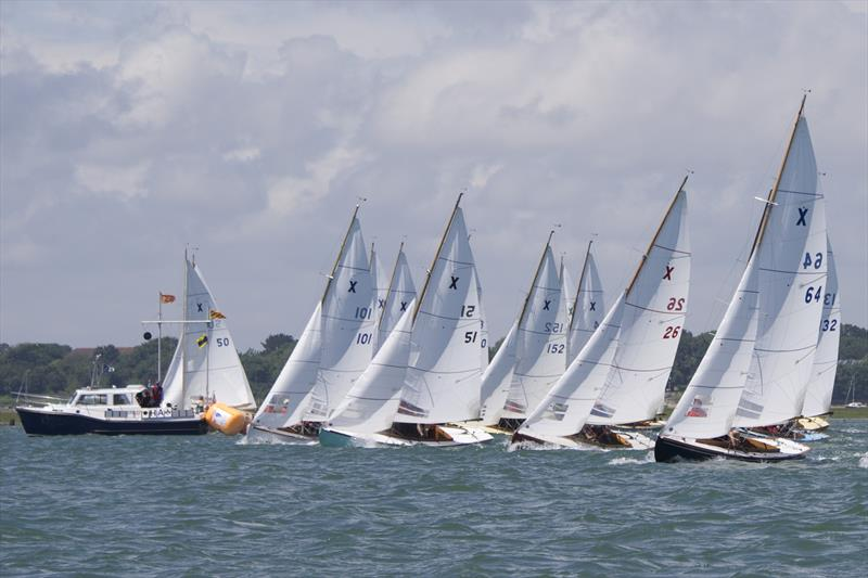 X64 Lightwood gets a good start in Friday's race to ensure victory - Keelboat Points Week at Itchenor - photo © Mary Pudney