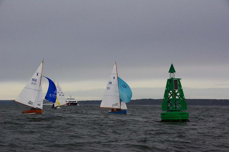 XOD fleet during Hamble River's Wednesday Night Early Bird series race 4 - photo © Trevor Pountain