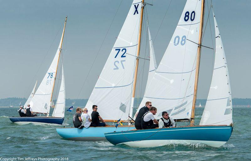 John Tremlett's X80 Lass claims a big victory in the XOD fleet on day 5 of Cowes Classics Week - photo © Tim Jeffreys Photography