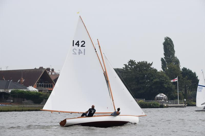 Chris Bunn's Yare and Bure OD Fox at Oulton Week 2017 photo copyright Trish Barnes taken at Waveney & Oulton Broad Yacht Club and featuring the Yare & Bure One Design class