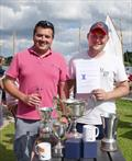 James & Richie Dugdale win the Yeoman Class 50th Anniversary Nationals on the Norfolk Broads © Ivan Ringwood