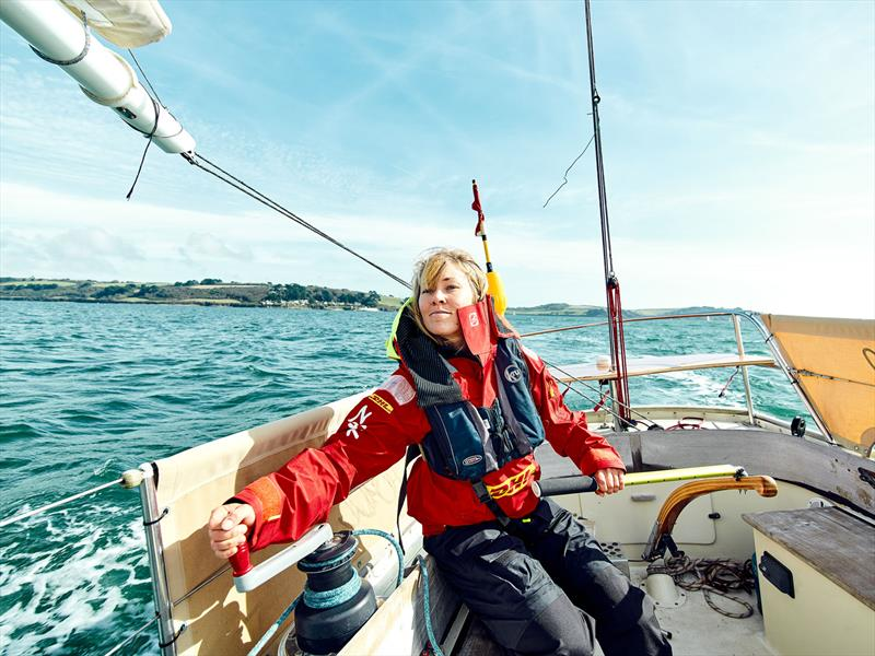 Zhik-sponsored Susie Goodall ahead of the Golden Globe Race 2018 photo copyright Zhik taken at  and featuring the  class